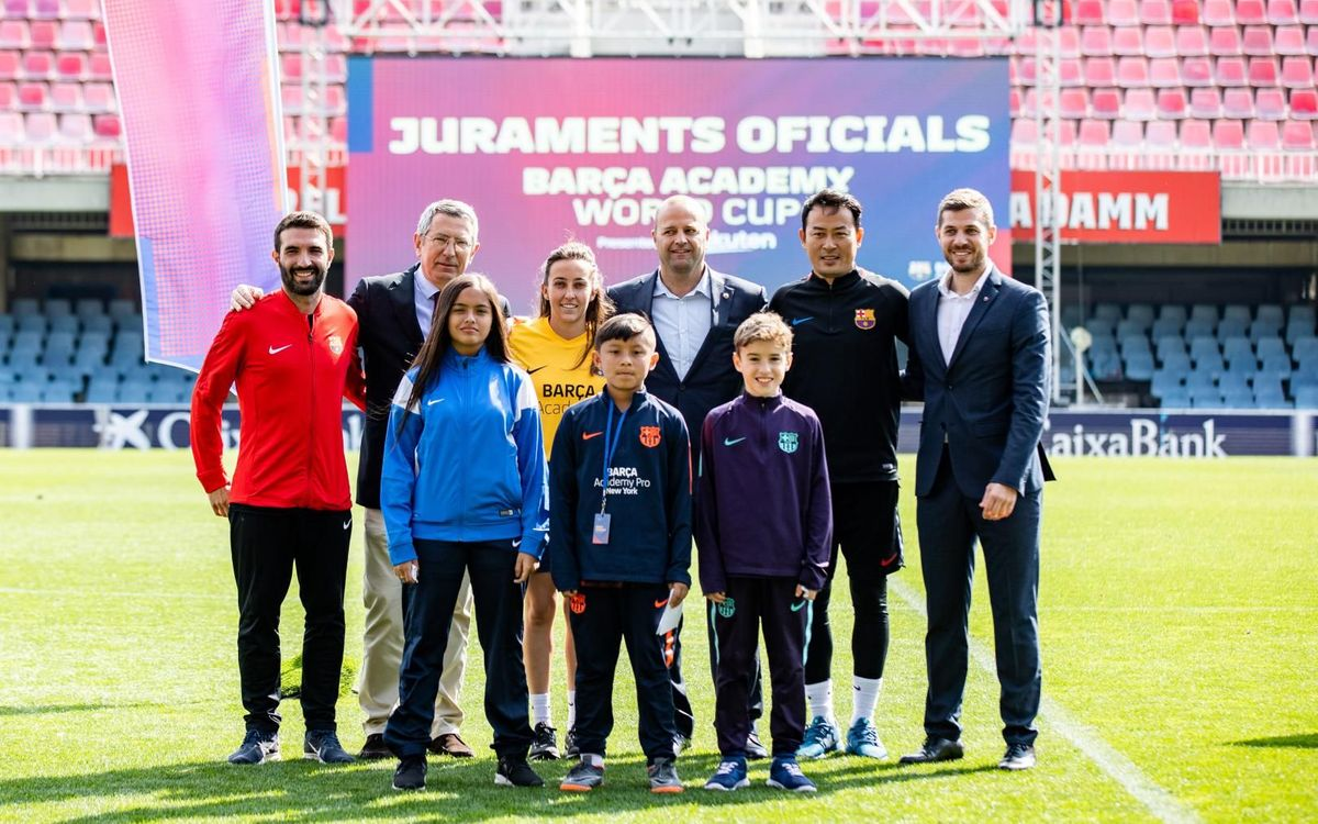 Inaugurada la Barça Academy World Cup 2019 presented by Rakuten, la más grande de la historia