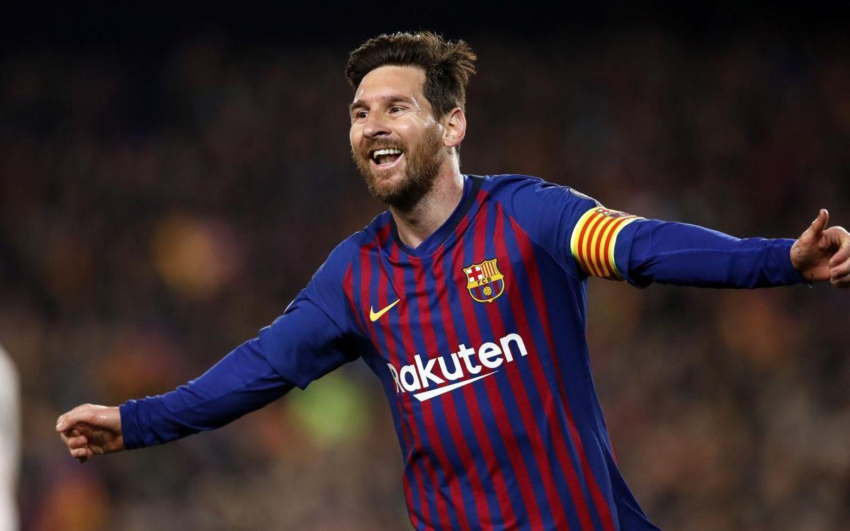 Rey Messi en Europa