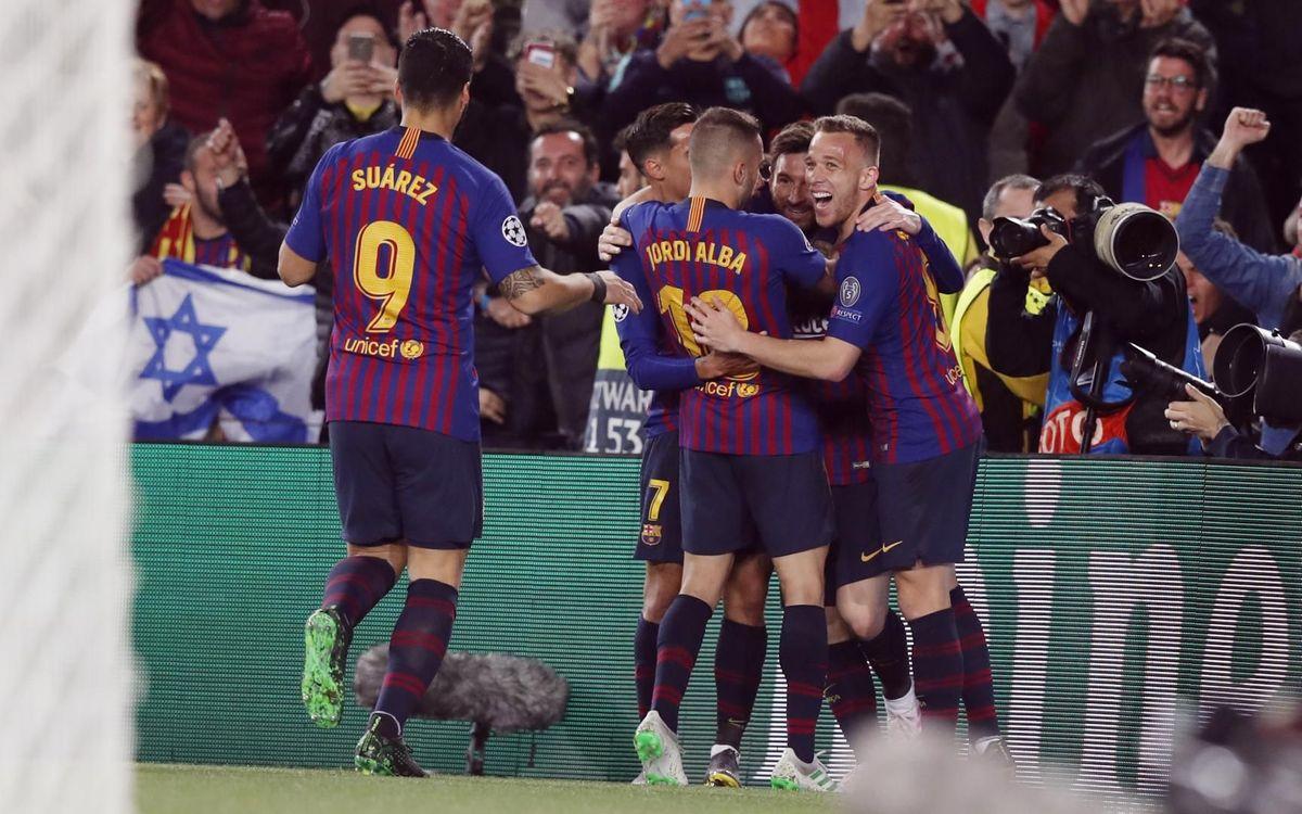 8èmes demi-finales de Ligue des Champions en 12 ans