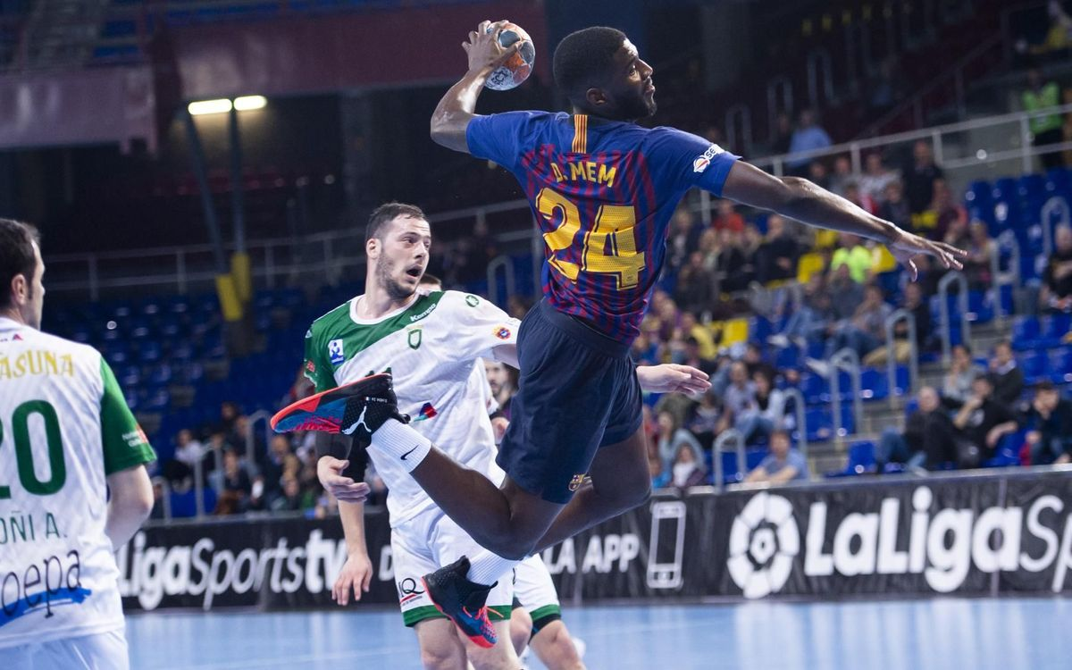 Barça Lassa 35–26 Anaitasuna: A win in the last test before visiting Nantes