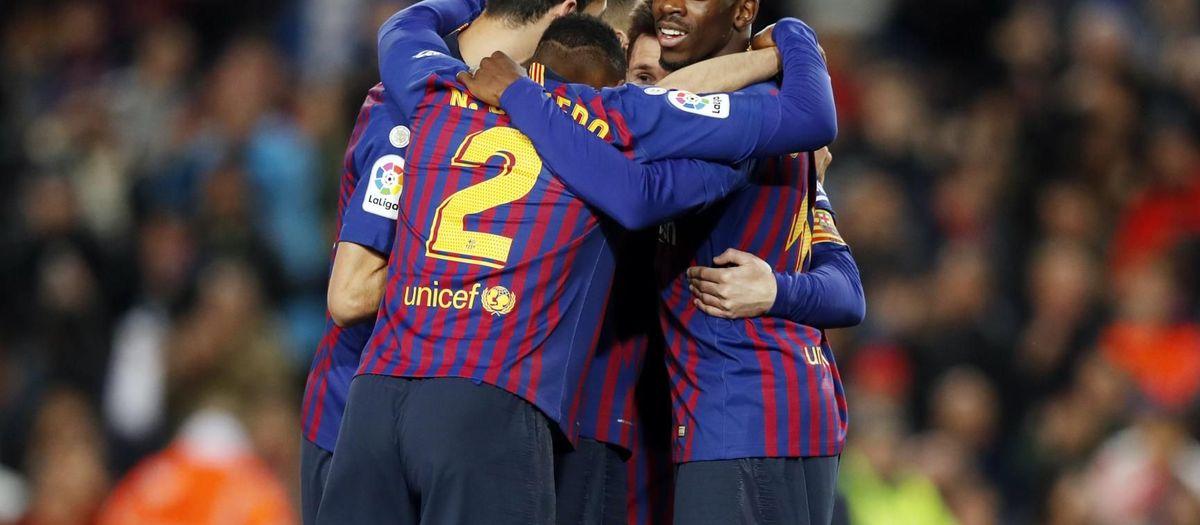 Three points to win La Liga