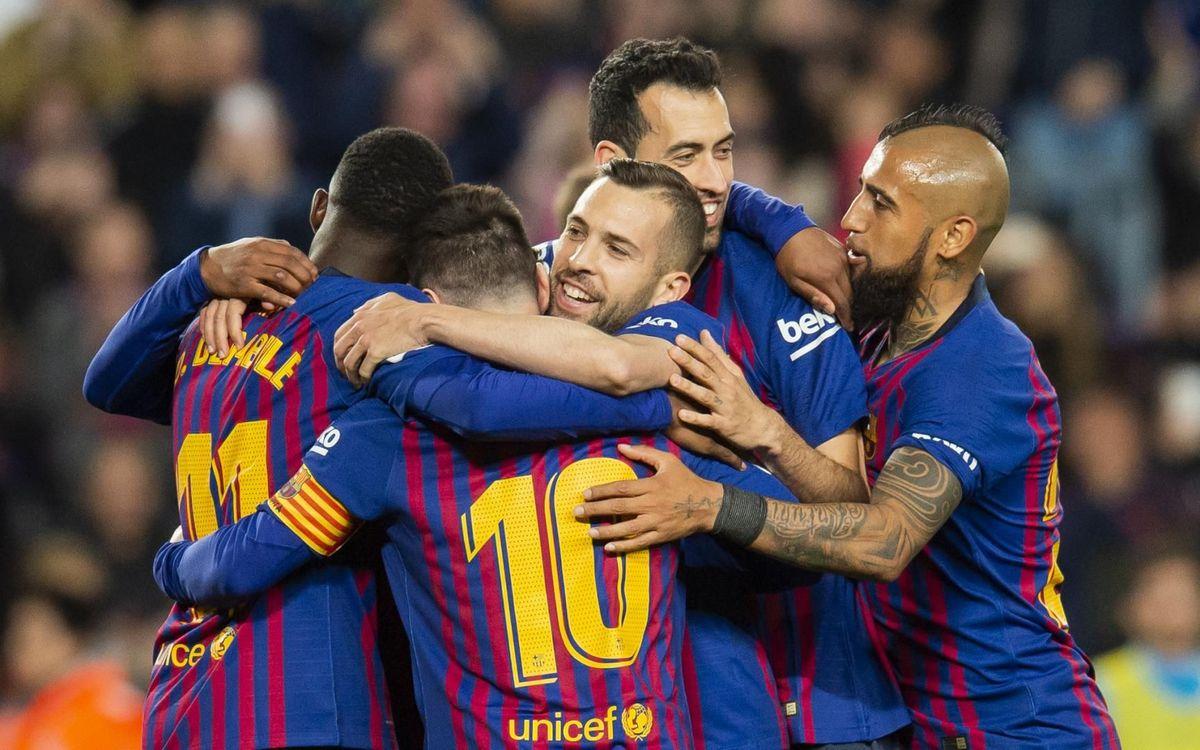 Alabès-Barça: Volen fer un pas més cap al títol