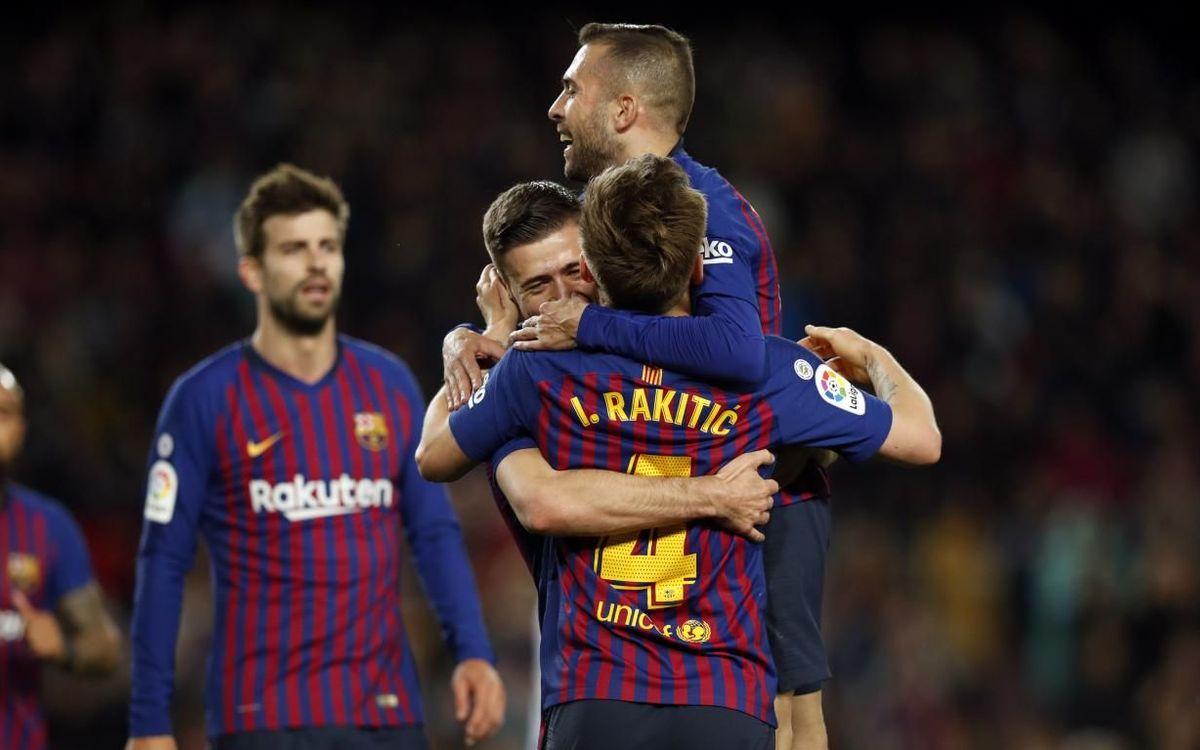 Barça – Real: La Liga, más cerca (2-1)