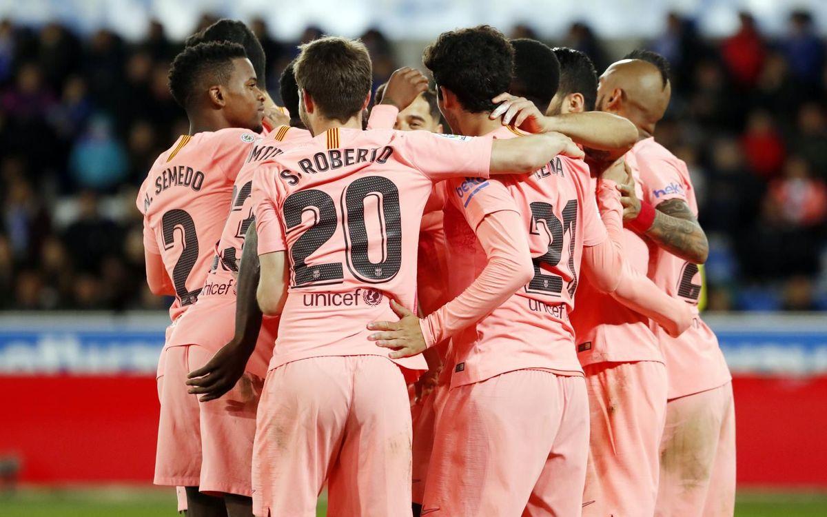 Le Barça peut être champion mercredi