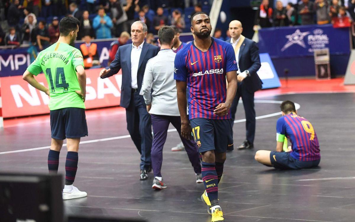 Barça - Kairat: Se escapa la final (2-5)