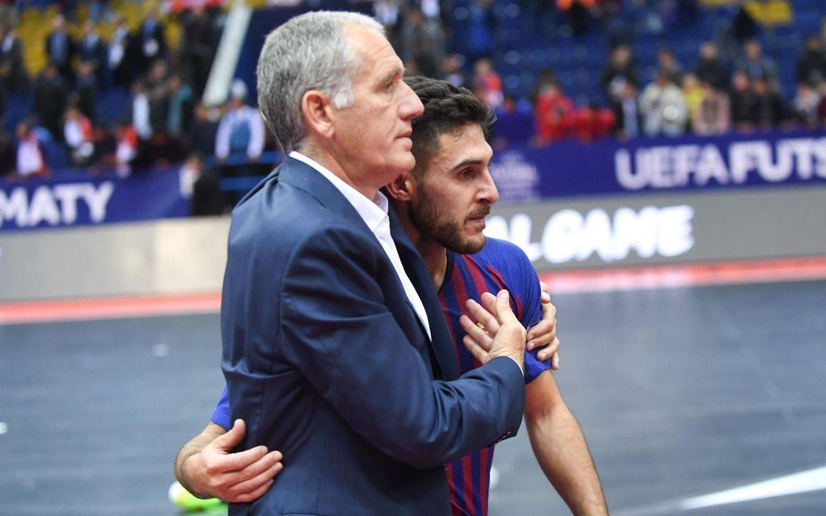 """Andreu Plaza: """"No puede empañar la buena temporada que estamos haciendo"""""""