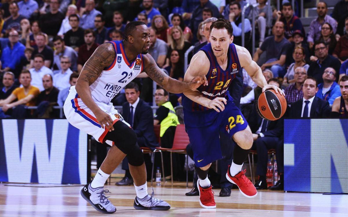 Barça Lassa – Anadolu Efes: Amb solidesa cap al cinquè partit (82-72)
