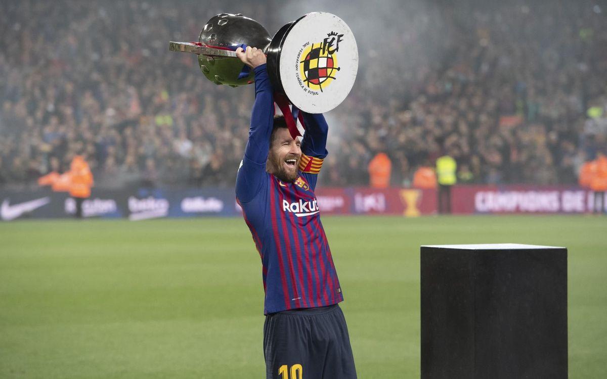CRÓNICA - ¡Messi certifica la 26ª Liga azulgrana! (1-0)