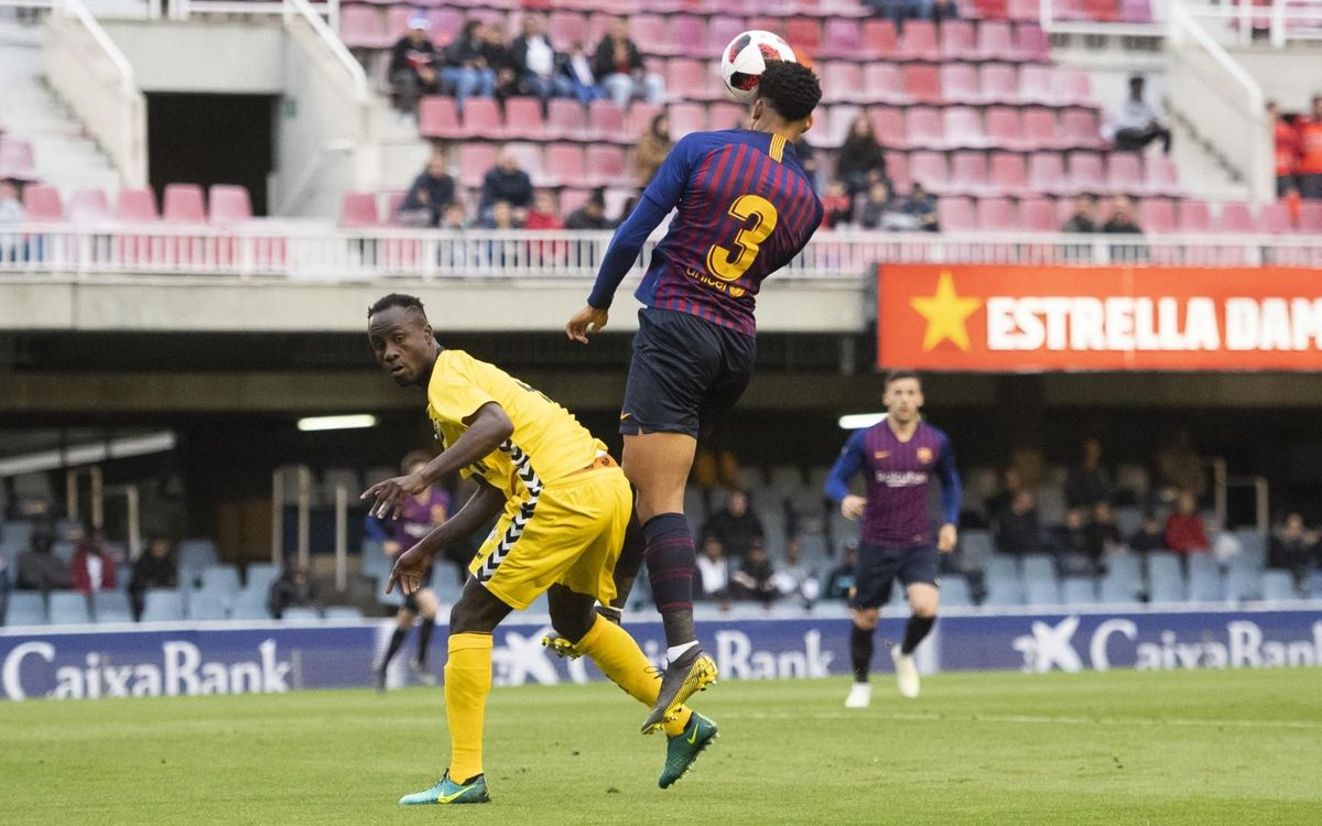 Barça B 1 – 1 Badalona: Posts keep blaugranes from winning