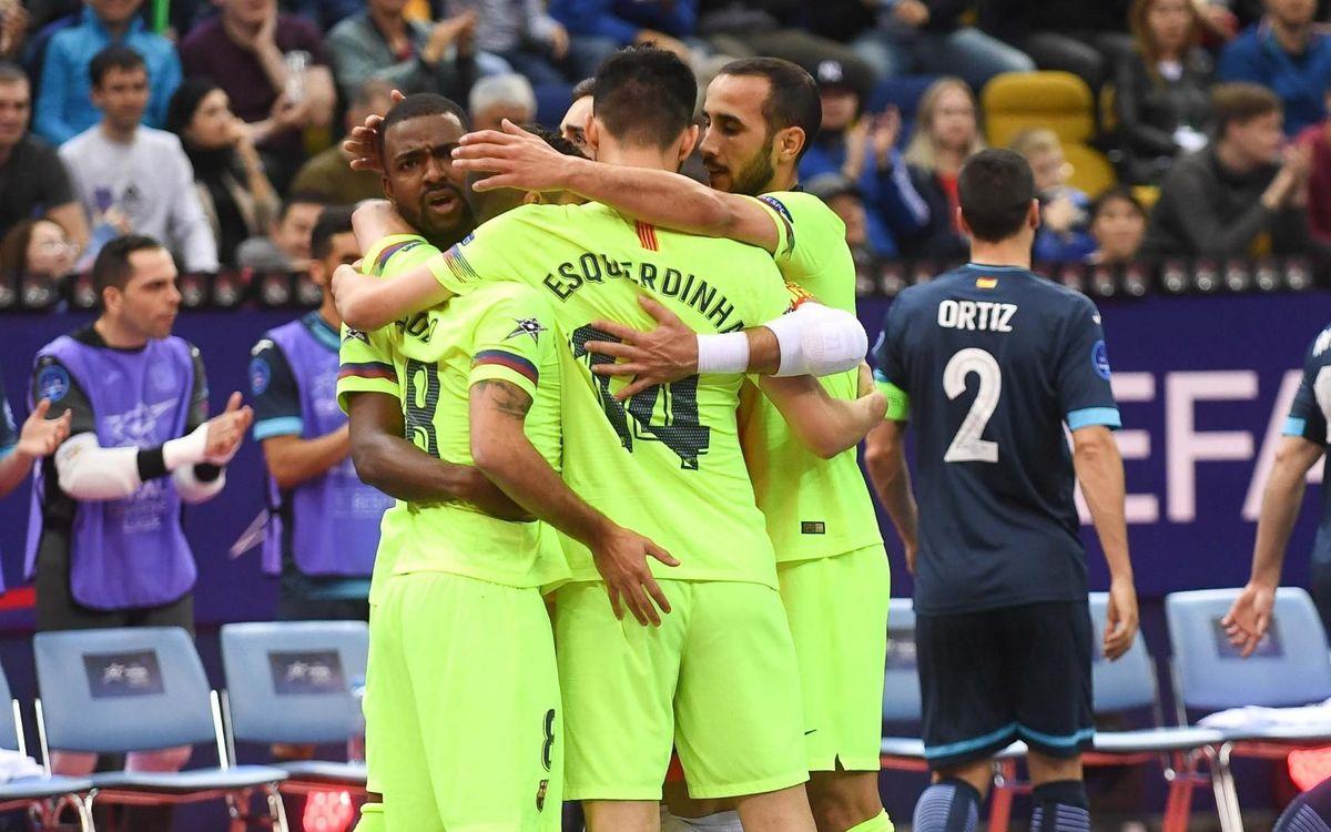 El Barça derrota l'Inter i acaba tercer (1-3)
