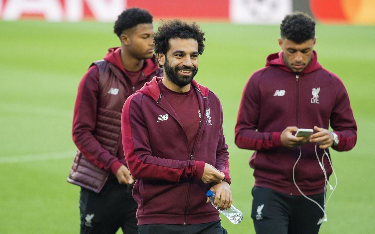Primer contacte del Liverpool amb el Camp Nou
