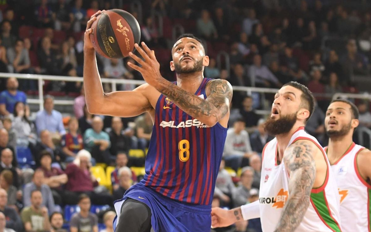 Barça 72-84 Baskonia: First league loss at the Palau