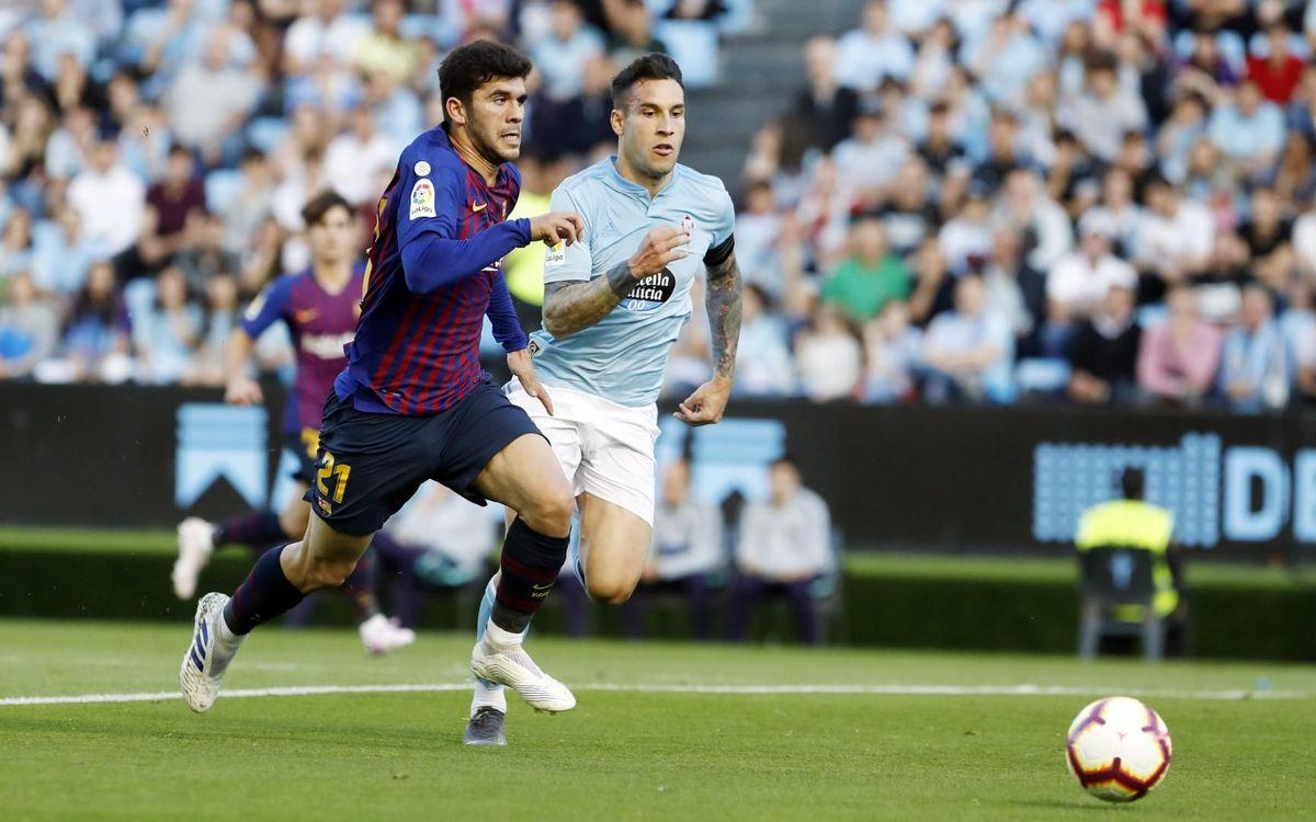 Celta – Barça: Derrota intrascendente en Balaídos (2-0)