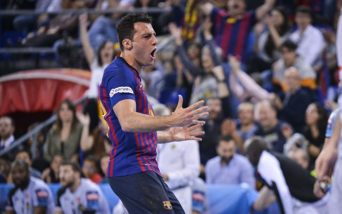 Barça Lassa – HBC Nantes (29-26): Classificats per a la Final Four!