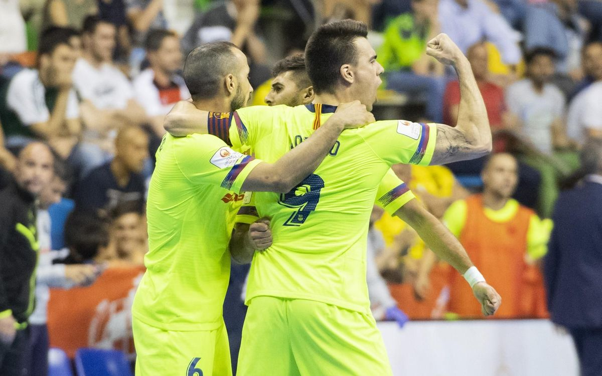 Movistar Inter – Barça Lassa: Defensaran la corona (4-5)