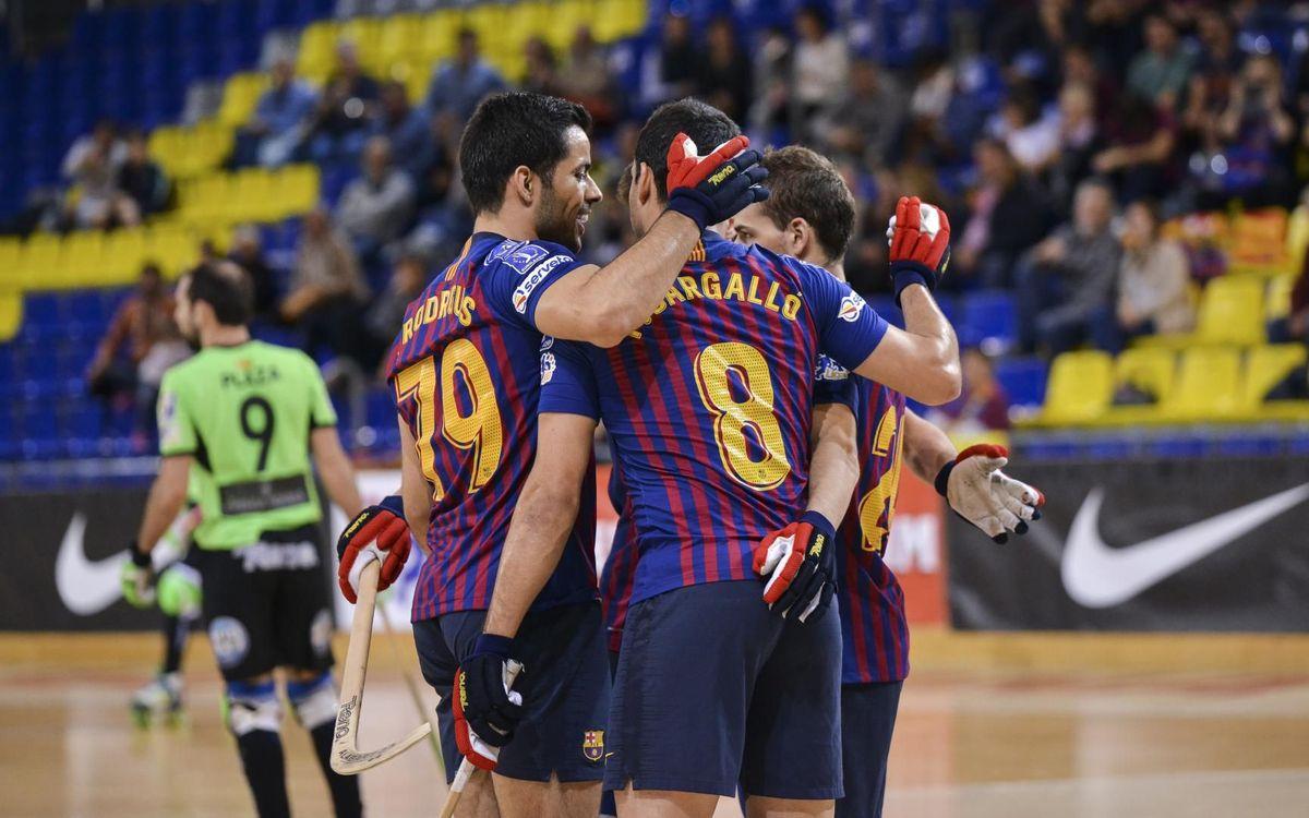 Barça Lassa – Lloret Vila Esportiva (11-2): Brillan antes de la Final Four