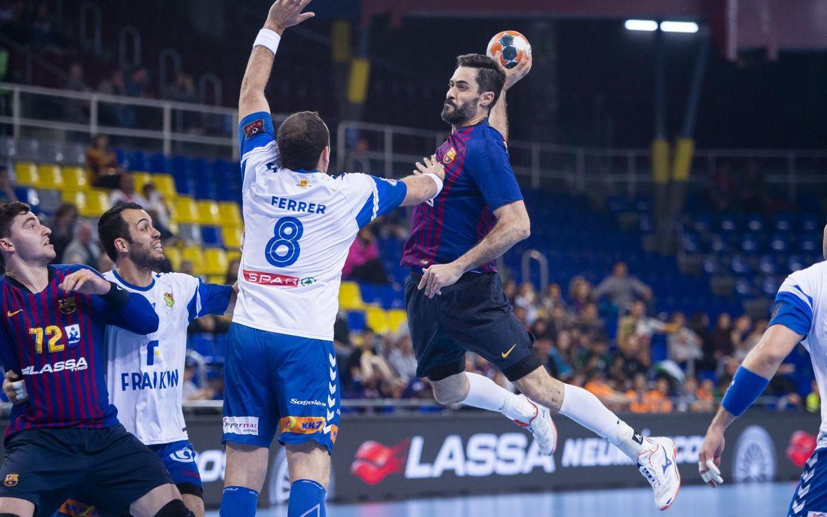 Barça Lassa – Fraikin BM Granollers: El derbi és culer! (38-27)