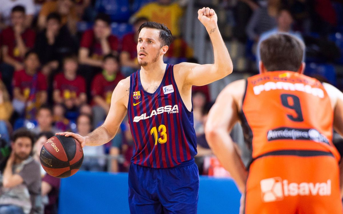 Barça Lassa 72 - 78 Valencia Basket: Out of first place