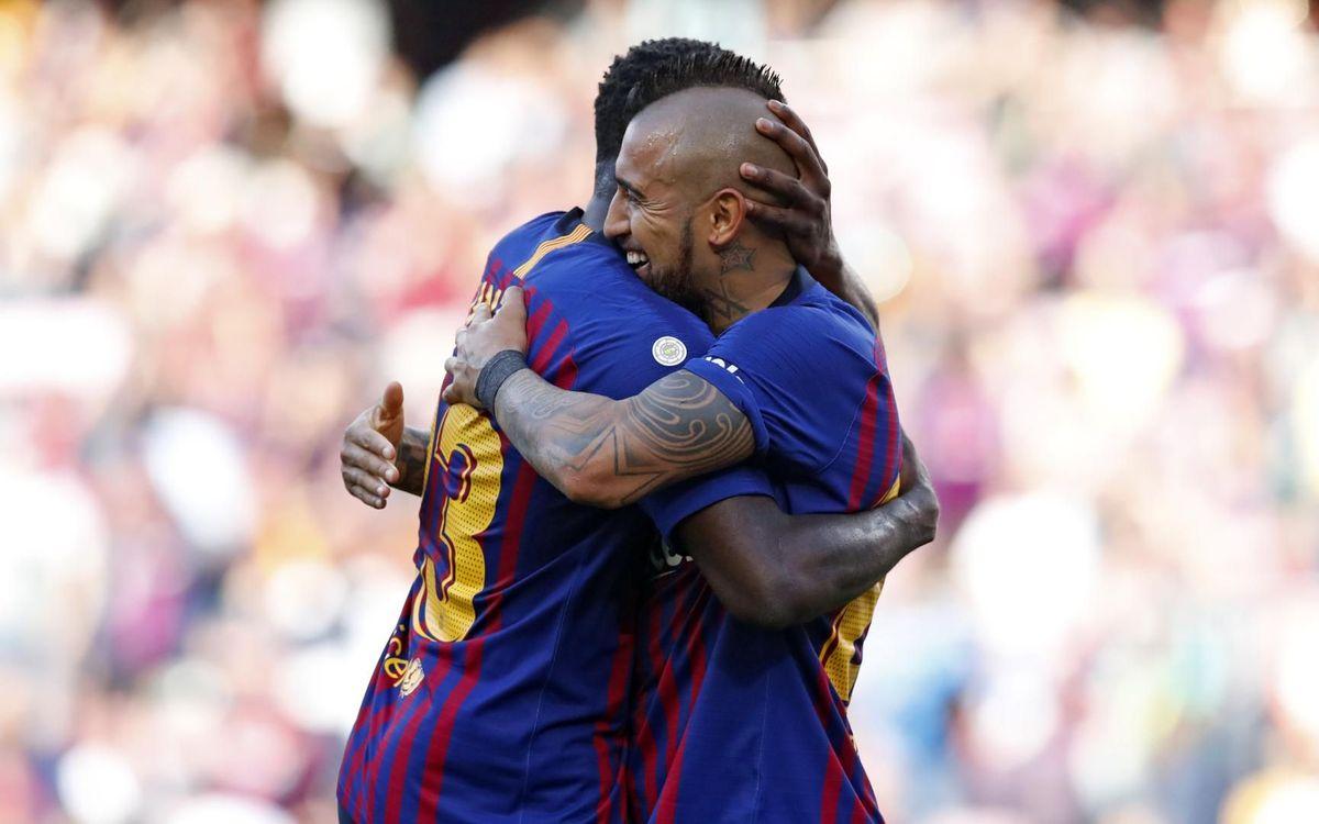Barça 2-0 Getafe: Winning end to Camp Nou season