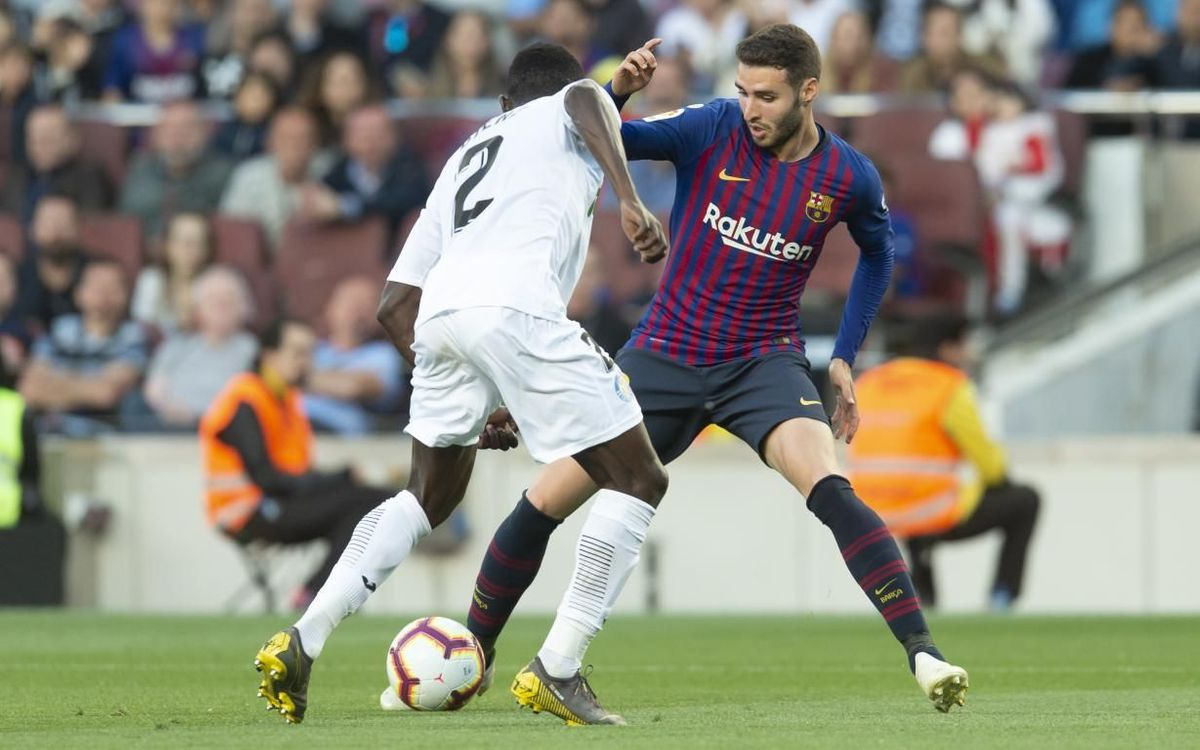 Abel Ruiz debuta con el primer equipo