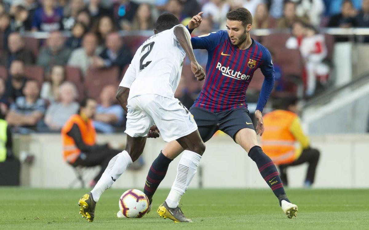 Abel Ruiz debuta amb el primer equip