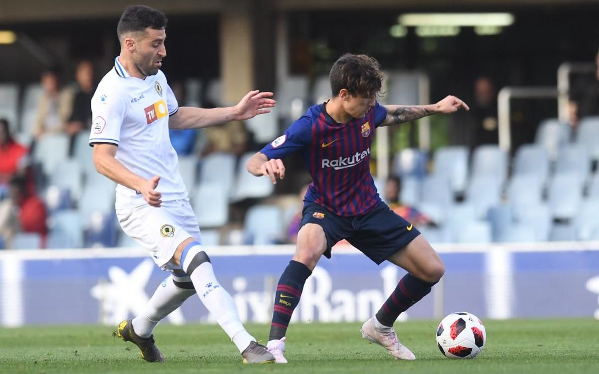 Barça B 0 Hércules CF 2: Beaten by the counter attack