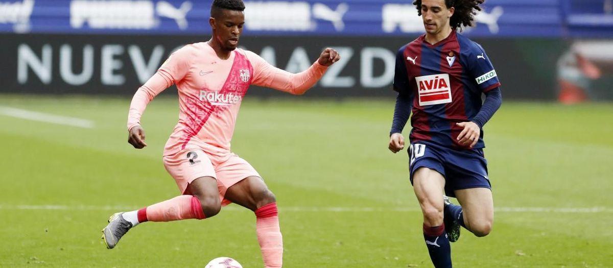 Nélson Semedo suffers head injury