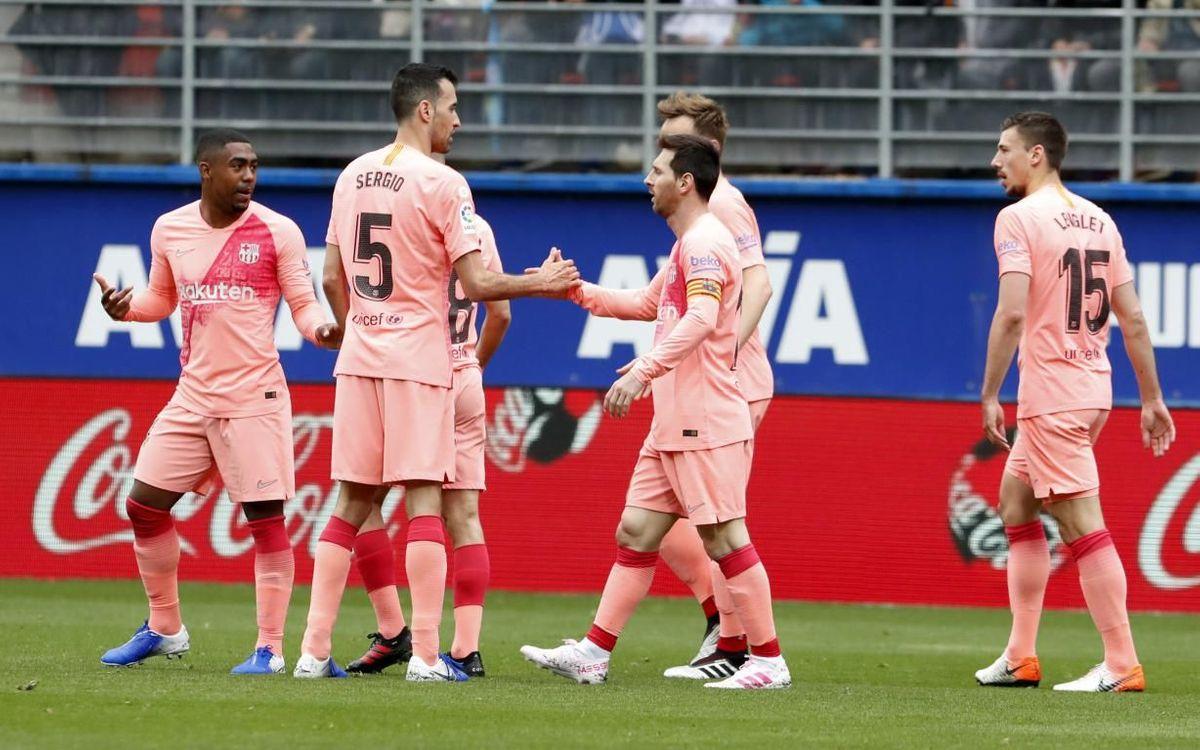 Eibar – Barça : Messi finit son œuvre en Liga (2-2)