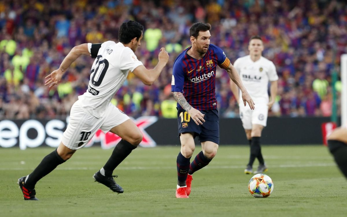 FC Barcelona – València: S'escapa la Copa (1-2)