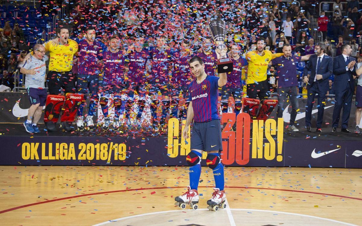 Barça Lassa - Reus Deportiu Miró: Se despiden invictos del Palau (2-0)