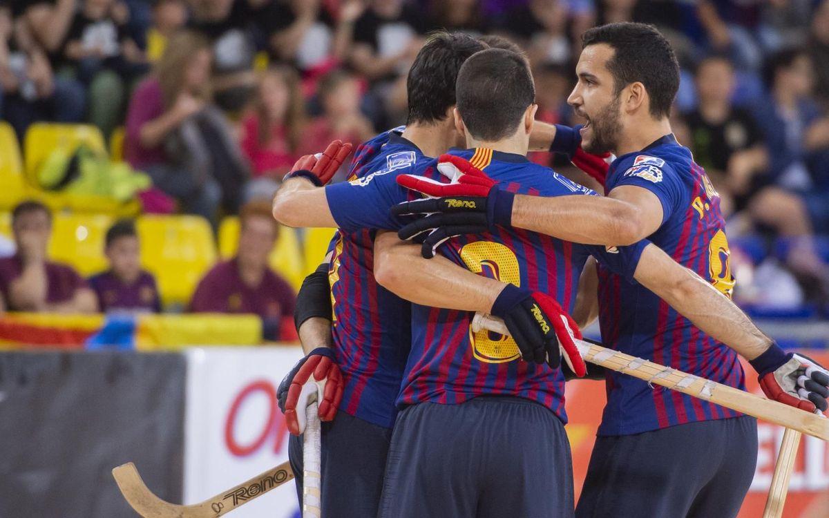 Alcobendas 2 – 5 Barça Lassa: Victory to close out a historic Ok Liga