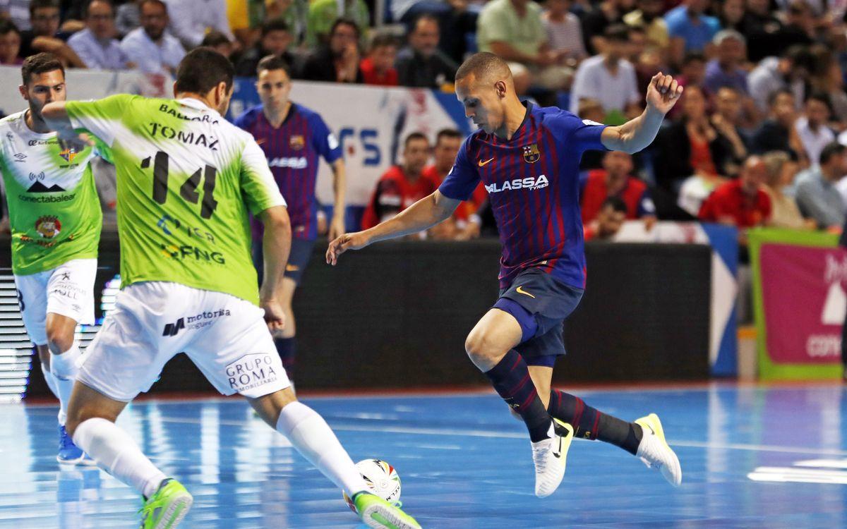 Palma Futsal - Barça Lassa: El Palau decidirá en el tercer partido (3-1)