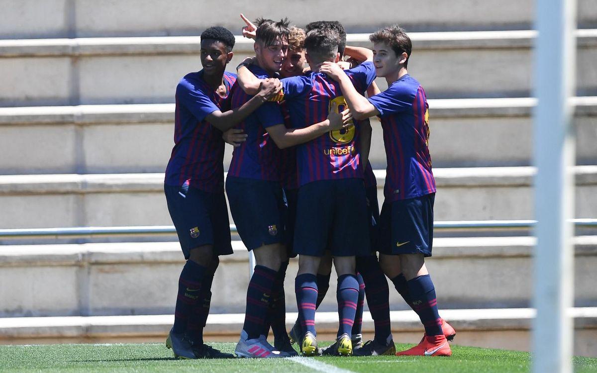 Juvenil B - Jàbac i Terrassa: Clasificados para la final (2-0)