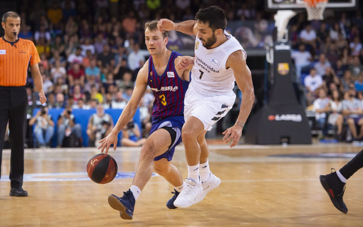 Barça Lassa 68-74 Real Madrid: The league escapes