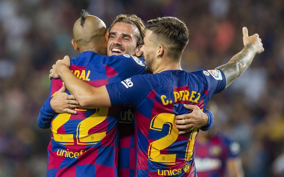 Barça - Betis: Estrenos gloriosos en el Camp Nou (5-2)